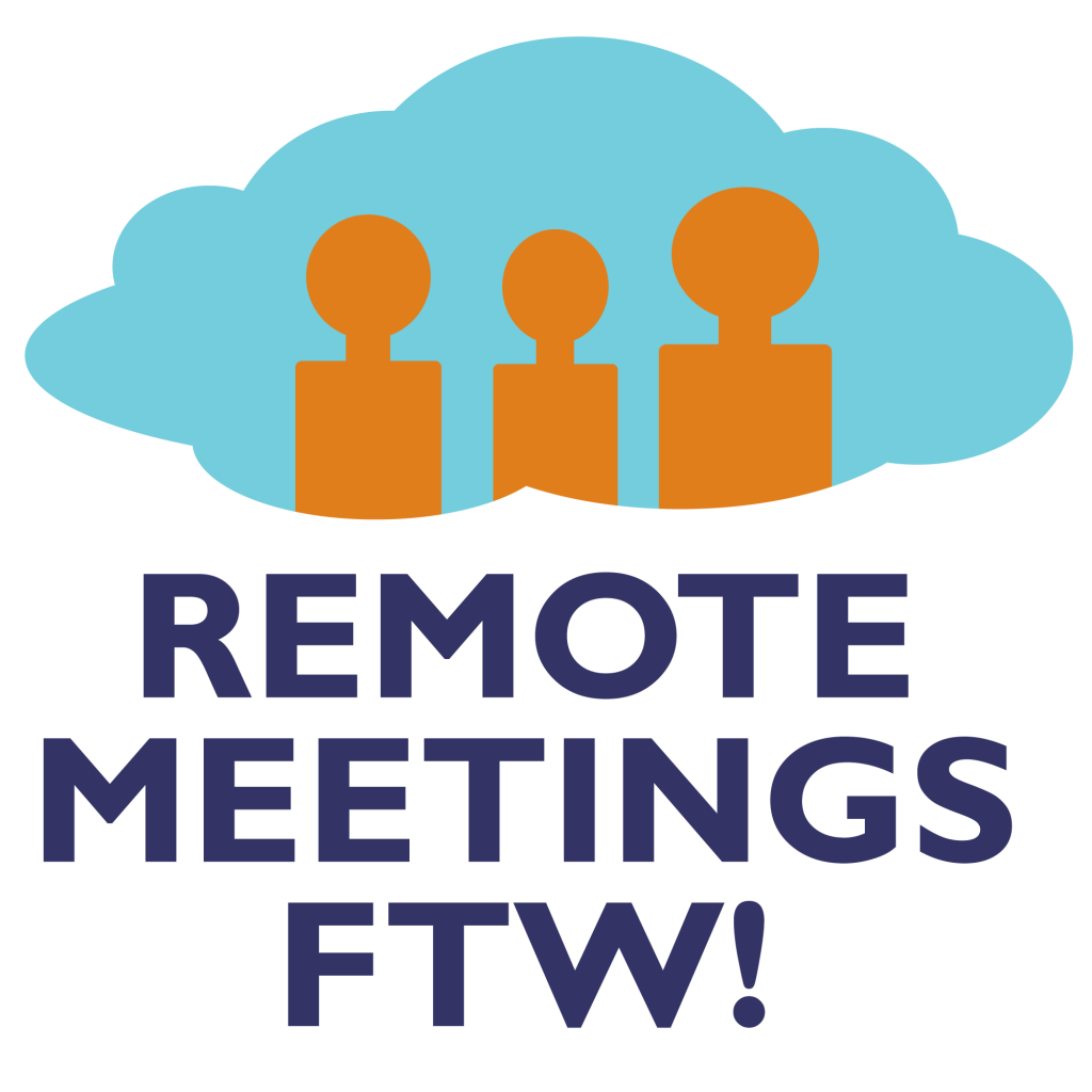 Remote Meetings FTW online live masterclass by The Brightspot Trust